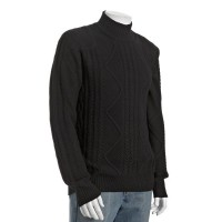 Calvin Klein Black Turtleneck
