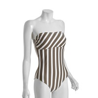 French Connection Striped Swimsuit